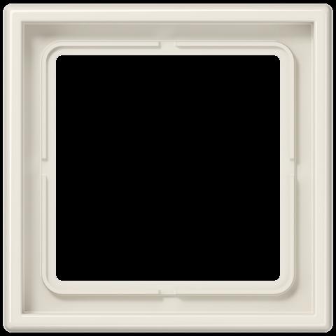 Рамка на 1 пост. Цвет Слоновая кость. JUNG LS 990. LS981W