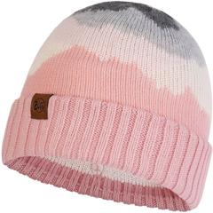 Вязаная шапка Buff Hat Knitted Sveta Blush