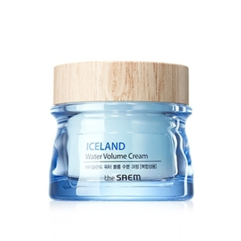 THE SAEM Iceland Hydrating Крем минеральный Iceland Water Volume Hydrating Cream(For Combination Skin) 80мл