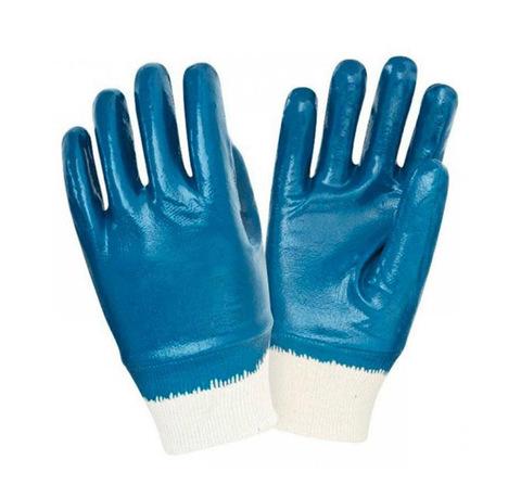 Перчатки с нитриловым покрытием (мягкая манжета)
