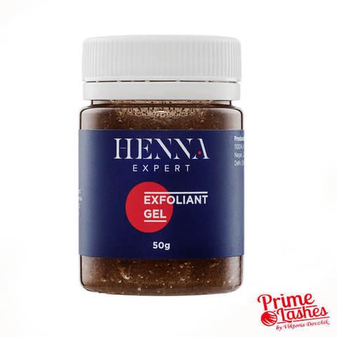 Скраб гель с миндальной крошкой Henna Expert, 50гр