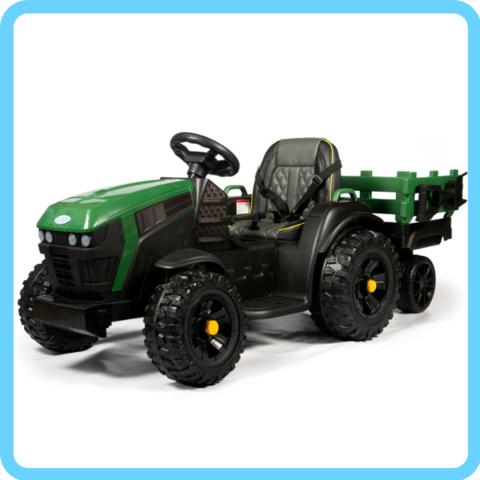 Трактор с прицепом TR777