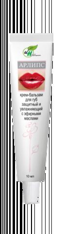 АРЛИПС 10 г Косметический крем- бальзам для губ ТМ Институт натуротерапии