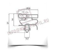Уплотнитель 104*56см для холодильника Орск 220.(холодильная камера)  Профиль 010