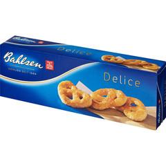 Печенье слоеное Bahlsen Delice в форме крендельков 100 г