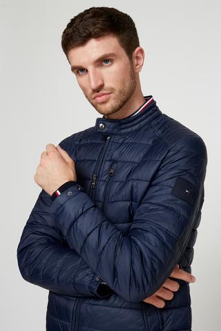 Мужская темно-синяя куртка CAFÉ RACER Tommy Hilfiger