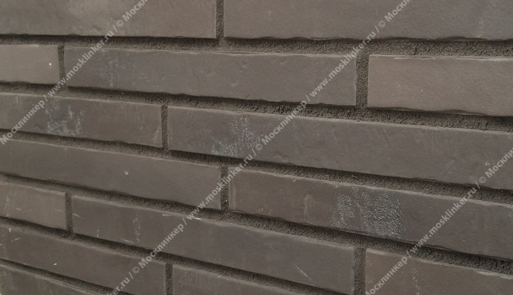 Stroeher - Glanzstueck №1, узкая, 440x52x14 - Клинкерная плитка для фасада и внутренней отделки