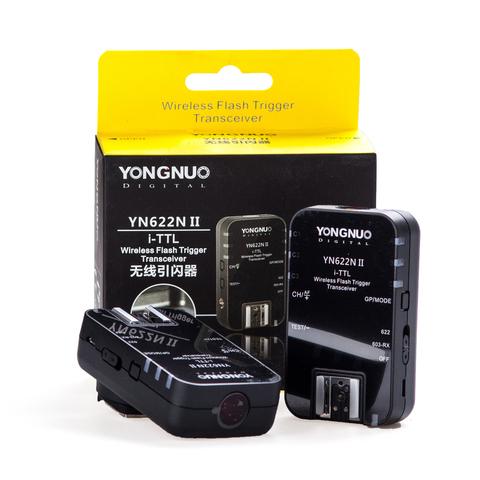 Радиосинхронизаторы Yongnuo YN 622N II для Nikon