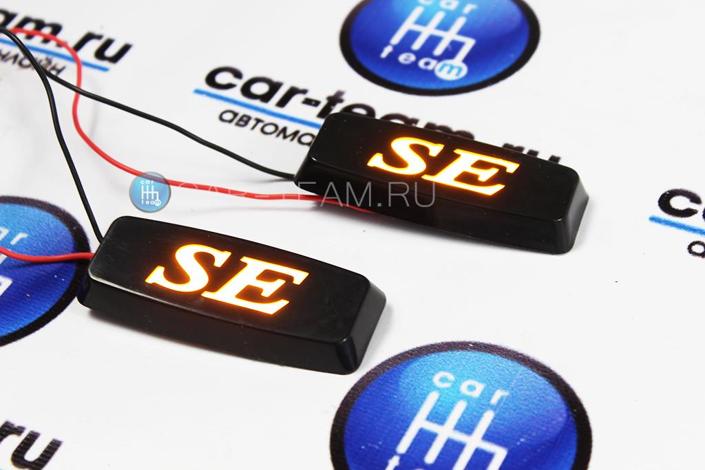 Декоративные заглушки поворотников диодные SE, черные