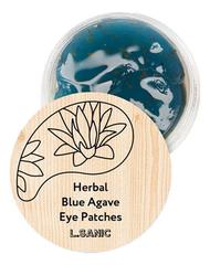 Гидрогелевые патчи для области вокруг глаз Herbal Blue Agave Hydrogel Eye Patches