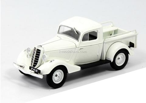 GAZ-M415 white 1:43 DeAgostini Auto Legends USSR Best #21