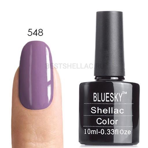 Bluesky Shellac 40501/80501 Гель-лак Bluesky № 40548/80548 Lilac Longing, 10 мл 548.jpg