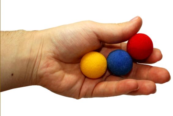 Поролоновые шарики (Sponge) - 2,5 см