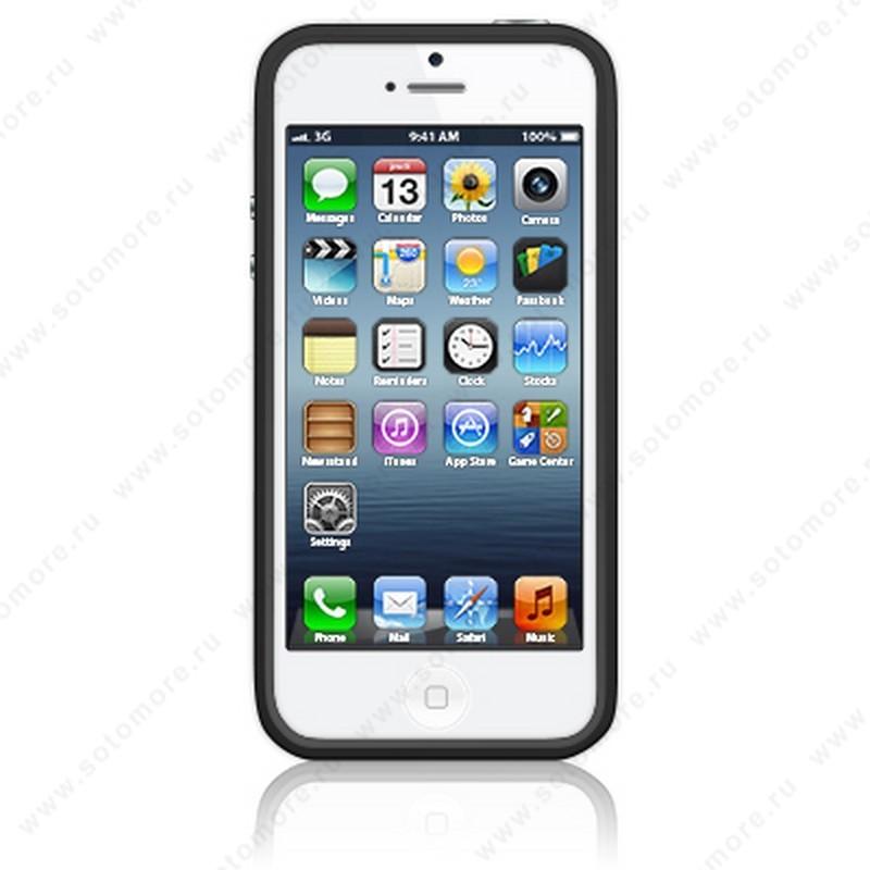 Бампер Apple для Apple iPhone SE/ 5s/ 5C/ 5 Bumpers черный