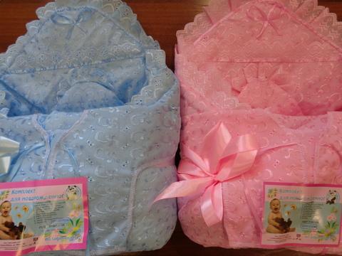 Комплект д/выписки  с одеялом №2(весна) (ШИТЬЁ)