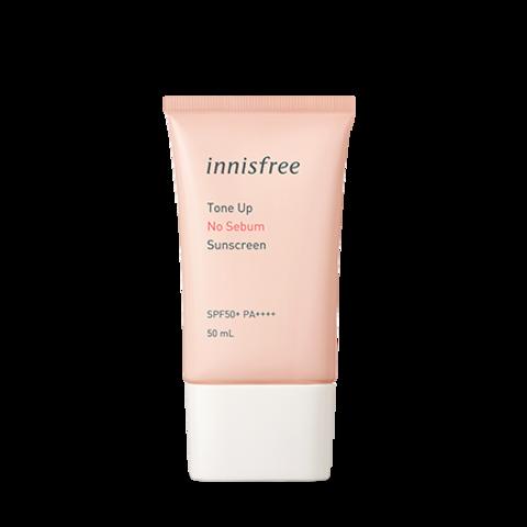 Солнцезащитное средство innisfree Tone Up No Sebum Sunscreen SPF35 PA+++ 8g