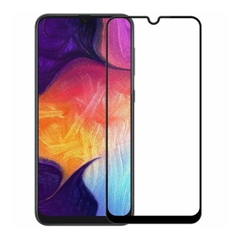 Защитное стекло Full Screen 5D для Samsung Galaxy A50, черное