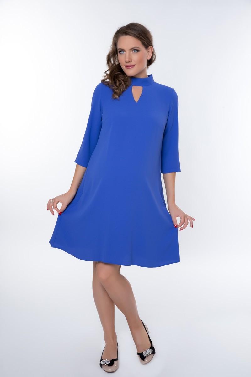 Платье для беременных 08965 синий