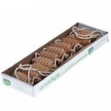 Массажер ленточный для глубокого самомассажа спины, 10 зубчатых валиков