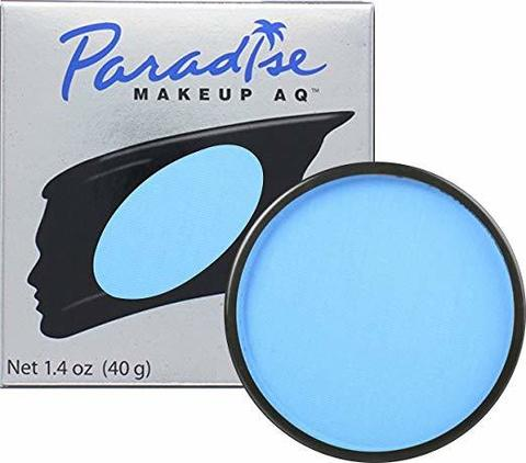 MEHRON Профессиональный аквагрим Paradise, Аквагрим Lt. Blue (Яркий голубой), 40 г