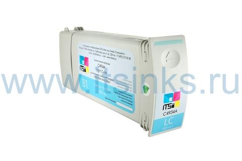 Картридж для HP 81 (C4934A) Light Cyan 680 мл