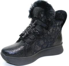 Зимние ботинки сникерсы