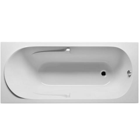 Ванна акриловая Riho Future 170X75   BC28 на каркасе с сливом переливом и фронтальной панель.