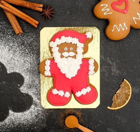 Пряник имбирной-медовый новогодний