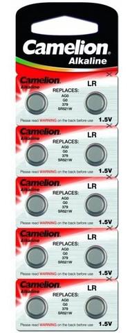 Батарейка Camelion AG10/389A Alkaline BL10