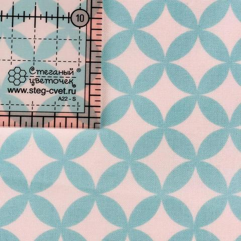 Ткань для пэчворка, хлопок 100% (арт. M0112)