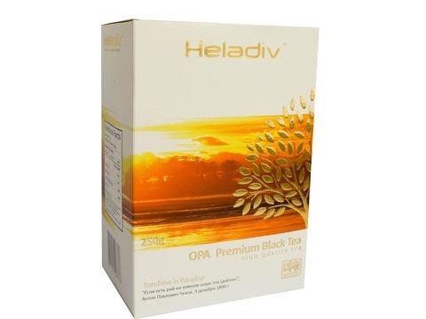 Чай листовой heladiv opa 250 гр