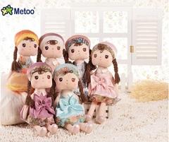Мягкая кукла в летнем платье 40 см