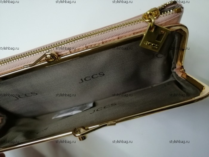 Женский кошелек цвета пудры JCCS j-3246