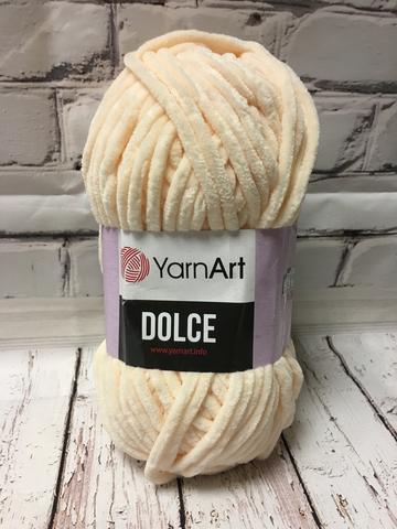 Пряжа Dolce YarnArt  779 бледный персик