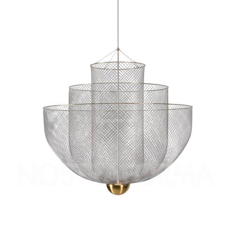 Подвесной светильник копия Meshmatics by Moooi D80 (золотой)