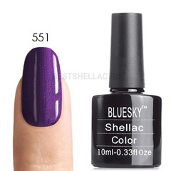 Гель-лак Bluesky № 40551/80551 Grape Gum, 10 мл