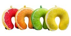Подушка-подголовник «Лимон» 5