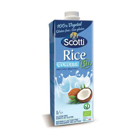 Органический рисовый напиток с кокосом 1л