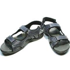 Спортивные сандалии мужские кожаные Mi Lord 2066EKO Blue