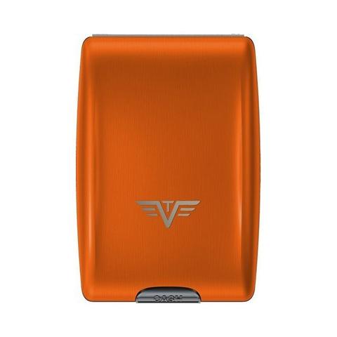Кошелек c защитой Tru Virtu Oyster, оранжевый , 102x70x27 мм