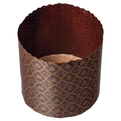 Набор бумажных форм для выпечки куличей «Пасхальный» 0,5 л 90х90 мм, 3 шт