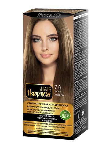 Белита-М Hair Happiness Крем-краска для волос аммиачная №7 русый