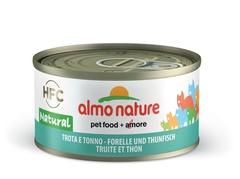 Консервы (банка) Almo Nature Legend Adult Cat Trout&Tuna