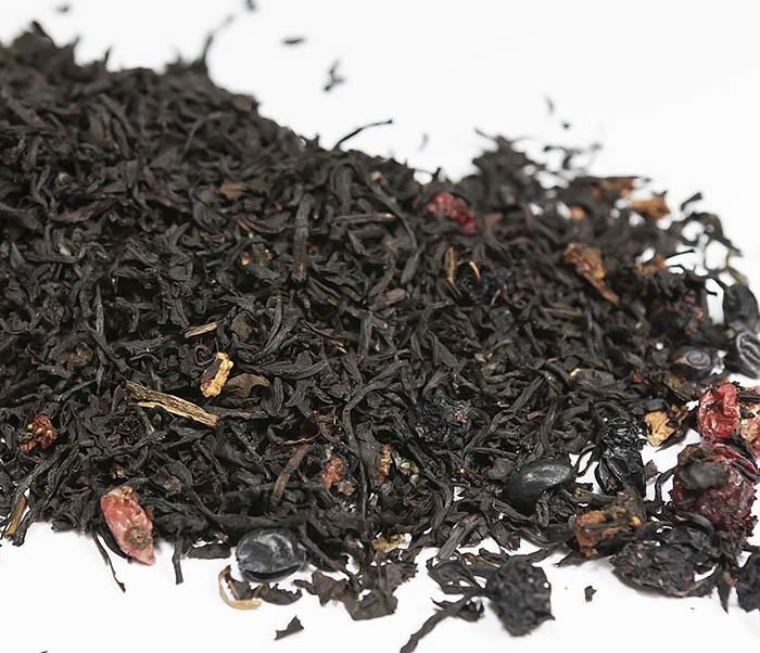 TEA-AR111 Черный ароматизированный чай «Русский чай» (50 гр)