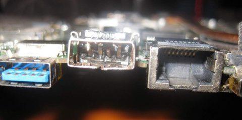 Замена разъема USB на ноутбуке