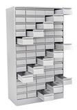 Шкаф картотечный для карточек