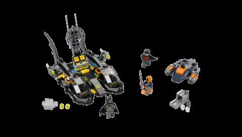 LEGO Super Heroes: Погоня в бухте на Бэткатере 76034 — Batboat Harbour Pursuit — Лего Супергерои ДиСи