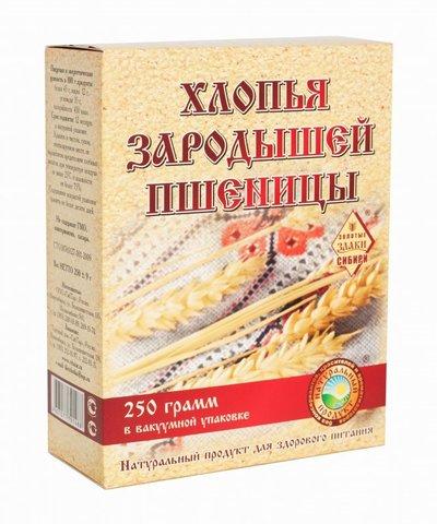 Хлопья Зародышей пшеницы, 250 гр. (СибТар)