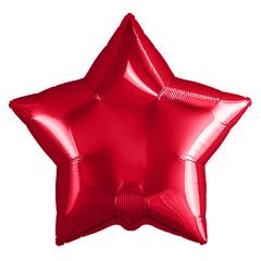 Шар звезда красный