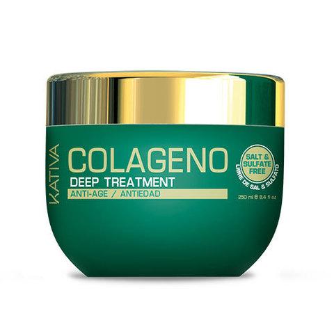 Маска для волос Интенсивный коллагеновый уход COLLAGENO Kativa, 250 гр.
